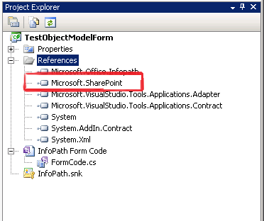 Set a reference to Microsoft.Sharepoint.dll