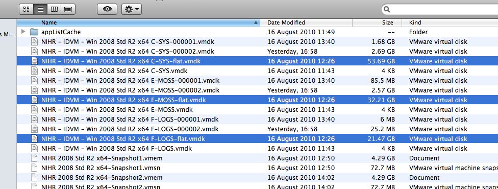 .VMWAREVM Package Contents