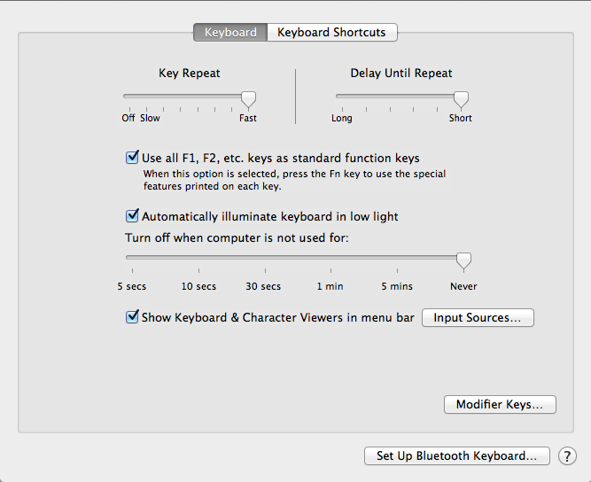 Key Repeat Disabled in Mac OS X Lion