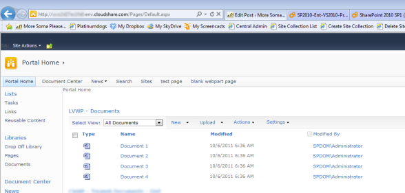 Web Access to my SharePoint Farm