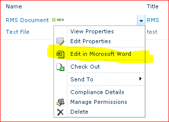 SharePoint: Purloining, Reusing and Customizing the ECB Menu System Part 1