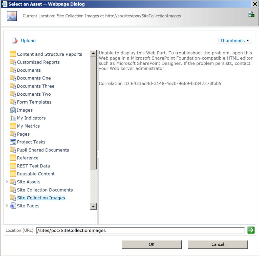 Portal Asset Browser