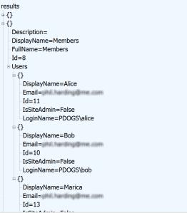 Simple JSON Data