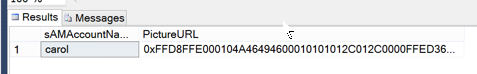 Check the synchronization database
