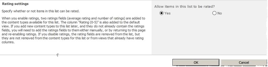 enable ratings